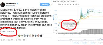 John Mcafee Appears To Move Cryptocurrency Markets With A