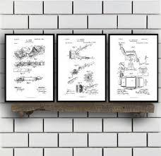 best bathroom wall art inspirational shaving inventions set of three shaving patent men s bathroom and on bathroom wall art set with 49 perfect bathroom wall art sets home design
