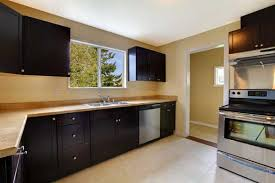 photos of black painted kitchen cabinets. dark painted kitchen cabinet ideas painting cabinets black distressed photos of e