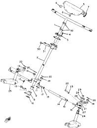 1978 yamaha exciter 440 ex440b steering parts best oem steering parts diagram for 1978 exciter 440 ex440b motorcycles