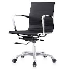 aviator low back office chair black
