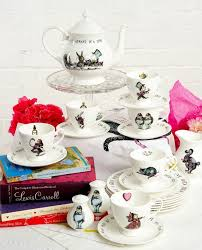 alice in wonderland tea set mad about the house