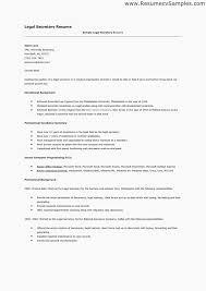 Sales Resume Objective Legal Secretary Resume Objective Resume Example