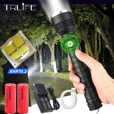 Hunting Lights For Sale Xhp70 2 Most Powerful Flashlight Xhp50 Usb Zoom Led Torch Xlamp Tactical Hunting Lights 18650 26650 Self Defense