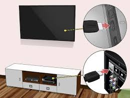 install a flat panel tv on a wall with
