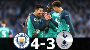 Manchester City vs Tottenham 4-3 - Highlights & Goals Resumen & Goles 2019  HD - YouTube