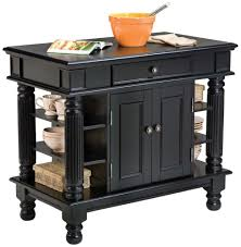Granite Kitchen Cart Amazoncom Home Styles 5092 94 Americana Kitchen Island Black