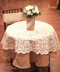 round table overlay fl lace overlay ivory diameter table linens for in bulk