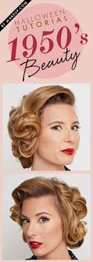 deven hopp 1950s hair and makeup tutorial