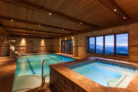 residential indoor lap pool. Breathtaking Mountain Home Represented By Influence Real Estate Residential Indoor Lap Pool D