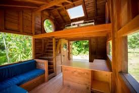 tiny house log cabin. Artist Builds Amazing Tiny Home House Log Cabin
