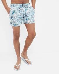 Mens Designer Swim Trunks 2017 Floral And Parrot Print Swim Shorts Mens Designer Swimwear