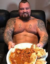 World S Strongest Man Diet Chart Worlds Strongest Man Eddie Hall Debuts Shock New Look After