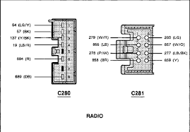 wiring diagram for 2006 ford f150 radio and schematic