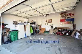 monkey bars garage storage. An Organized Garage Using The Monkey Bars Storage Systems At TidyMom.net