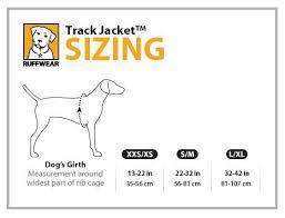 Ruffwear Coat Size Guide