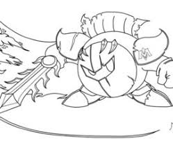 Small Picture Meta Knight Coloring Page AZ Coloring Pages Tenkai Knights
