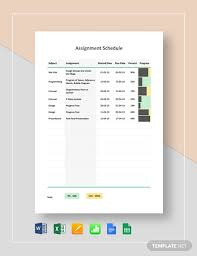 Design Schedule Template 197 Free Schedule Templates Pdf Word Excel Psd