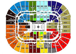 2018 Acc Tournament Seating Chart By School Seating Chart For Acc Tournament 2019