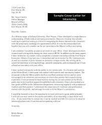 Sample Cover Letter For Legal Internship – Resume Ideas Pro