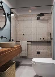 No banheiro projetado pelos arquitetos ucranianos azovskiy pahomova, o granilite em tons neutros foi usado no piso, contrastando com a madeira das paredes. Granilite O Que E Vantagens Desvantagens Dicas E Fotos