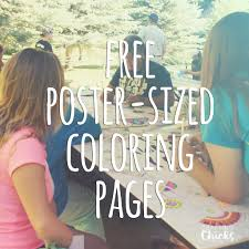 Choose from over 100 beautiful templates to design stunning posters easily. Printable Coloring Tablecloths And Posters The Crafting Chicks