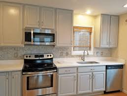 grey kitchen cabinets with granite countertops smooth gray marble light countertop simple wooden counter natural round