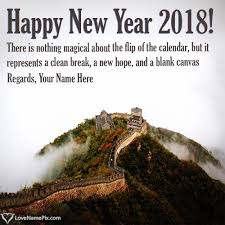 New Year Famous Quotes Classy Write Name On New Year Famous Quotes Picture