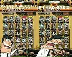 Naruto blazing character tier list. Naruto Tier List Templates