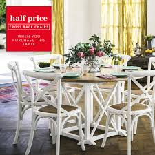 White Distressed Kitchen Table Provincial Oak Round Dining Table 1400mm Distressed White