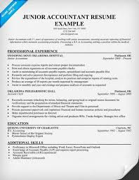 staff accountant resume sample   resume samples across all    junior accountant resume sample
