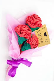 Paper Flower Bouquet Tutorial Cute Paper Flower Bouquet Fun Thrifty Mom