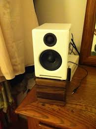 desktop speaker stands for audioengine a2 speakers made at tech throughout desk prepare 14