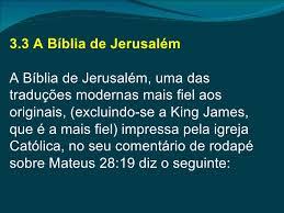 Resultado de imagem para MATEUS 28:19 VERDADEIRO