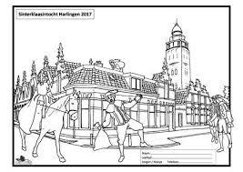 Sint Kleurplaat In Hc Harlinger Courant