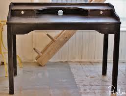diy vintage industrial desk ikea picklee inside writing plan 11