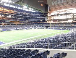 Dallas Cowboys Stadium Seating Chart At T Stadium Section 118 Seat Views Seatgeek