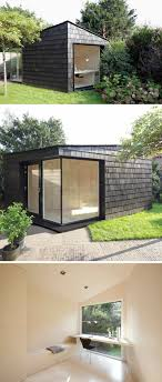 backyard guest house. This Backyard Shed Was Created As A Multi-functional Space Detached From The Home That Could Be Used Storage For Tools And Bikes, Bright Private Guest House H