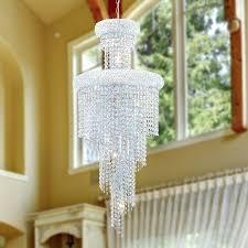 crystal clear chandelier empire light chrome finish and clear crystal chandelier clear crystal chandelier beads