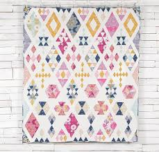 Best 25+ Diamond quilt ideas on Pinterest | Baby quilt patterns ... & Floating Diamonds Quilt Kit Adamdwight.com