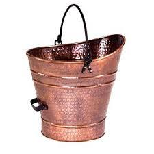 ash bucket for fireplace copper coal bucket can fireplace ashes pleasant hearth fireplace ash bucket