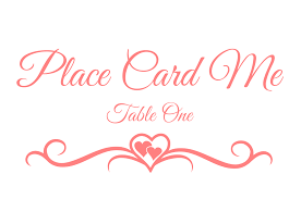 Place Card Design Place Card Me A Free And Easy Printable Place Card Maker