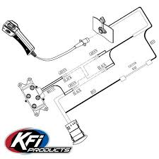 dash rocker switch kit kfi atv winch mounts and accessories winch see below wiring schematic