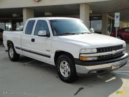 Silverado 99 chevrolet silverado : 1999 Summit White Chevrolet Silverado 1500 LS Extended Cab ...
