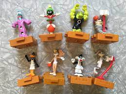 1996 Looney Tunes Space Jam McDonald's Happy Meal toys | Happy meal toys,  Happy meal, Happy meal mcdonalds
