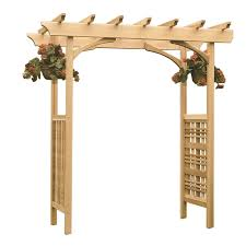 Small Picture Simple Garden Arbor For Montebello Iron With Gate Throughout