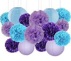 Purple Balls For Decoration Stunning Amazon Mermaid Party Decorations Wedding Party Decorations