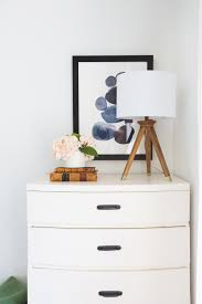 Lamps For Bedroom Dresser How To Pick The Right Lamp For Your Dresser Emily Henderson