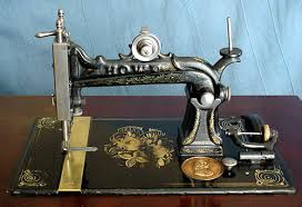 Howe Sewing Machine For Sale