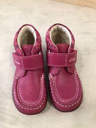 authentic clarks toddler girl leather boots shoe bayi kanak kanak pakaian budak perempuan 1 hingga 3 tahun di carou